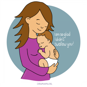 Moeder illustratie